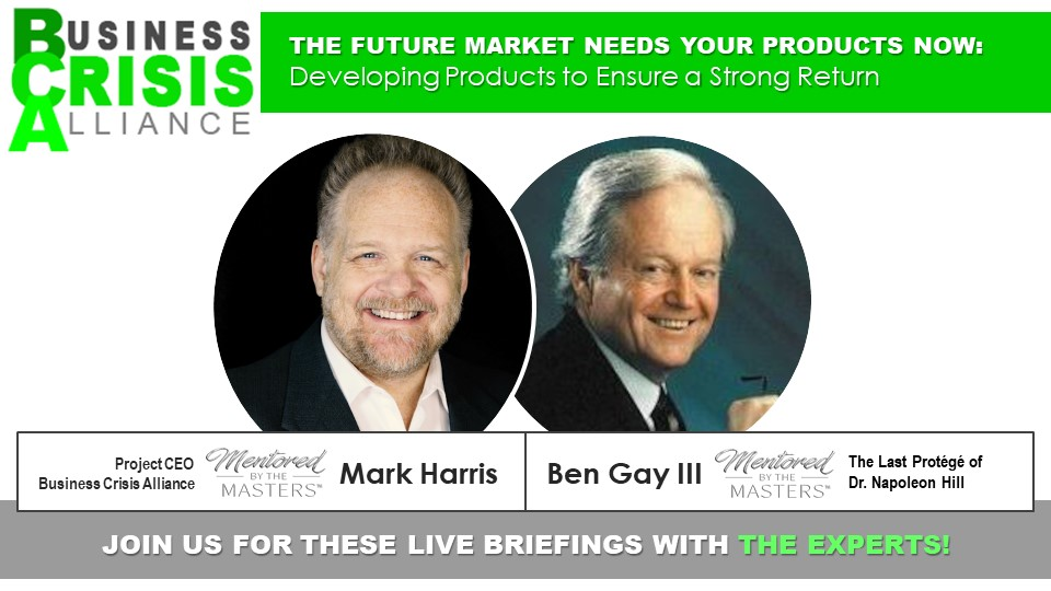 The Future Market Needs Your Products Now: Developing Products to Ensure a Strong Return